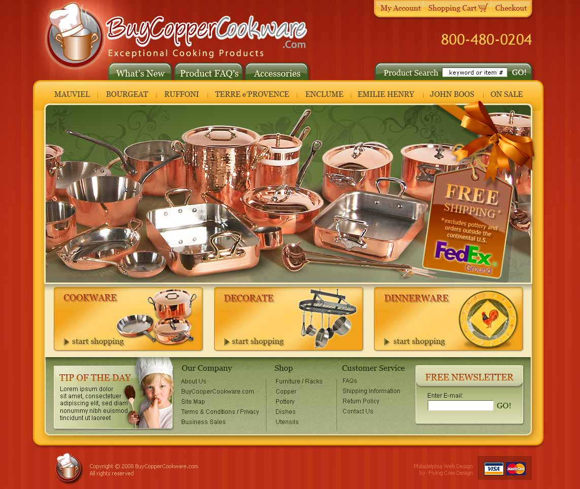 buycopper Web Design in Chicago, IL