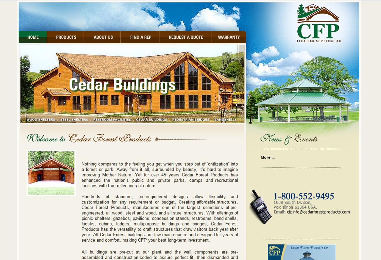 cedar-185 Architect Web Design