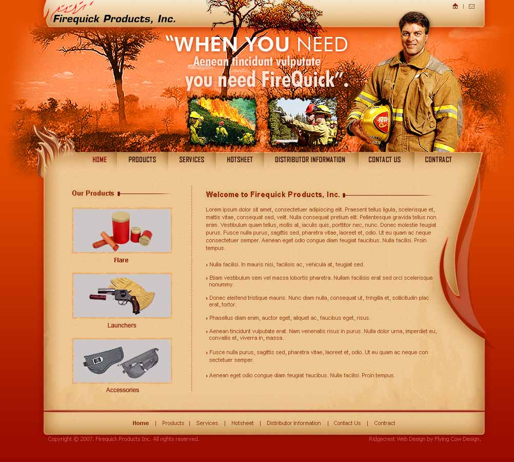 firequick Web Design in California, CA