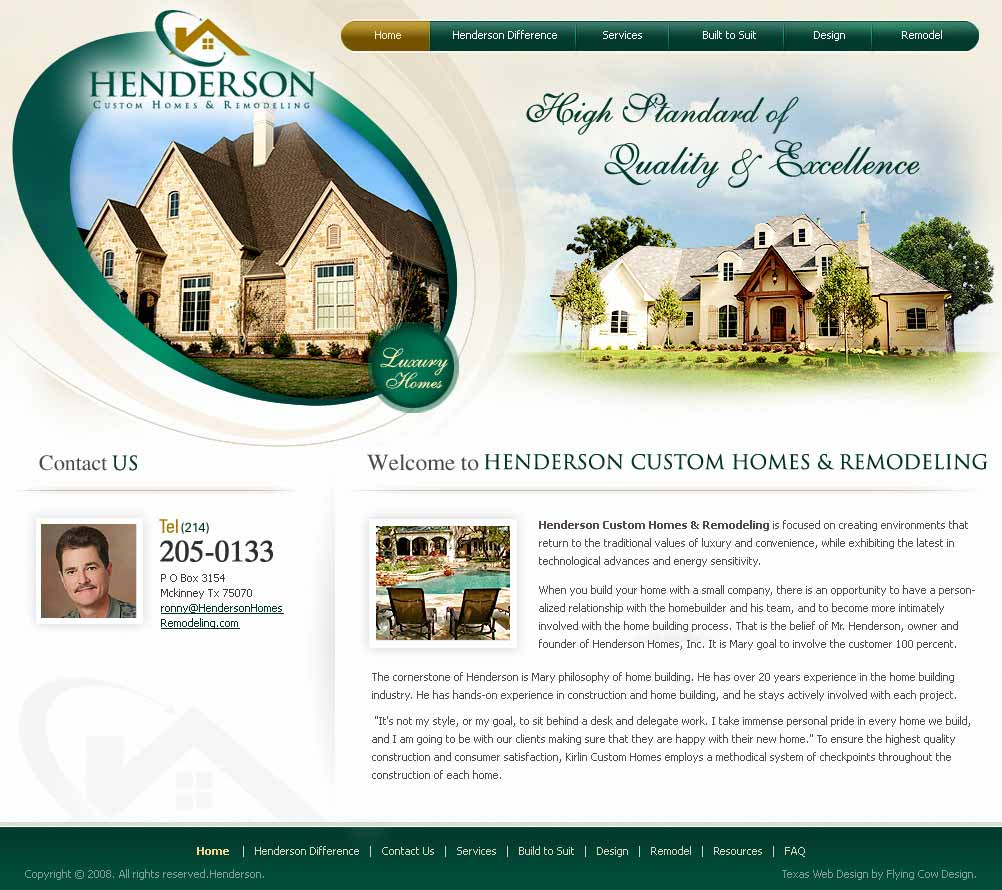 henderson Real Estate Website Design
