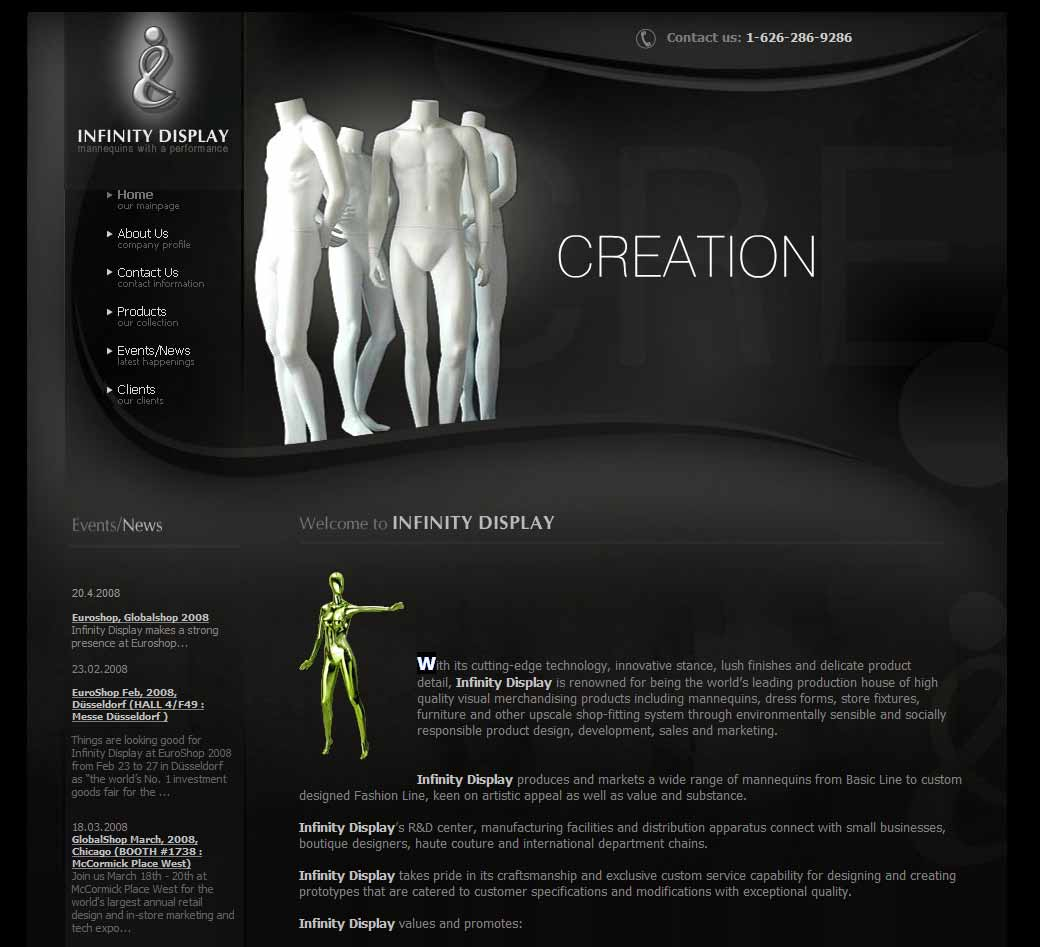 infinity Web Design in California, CA
