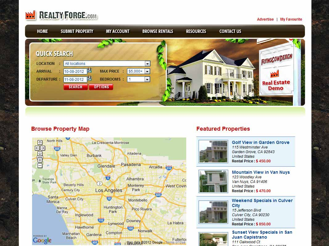 realtyforge Real Estate Website Design