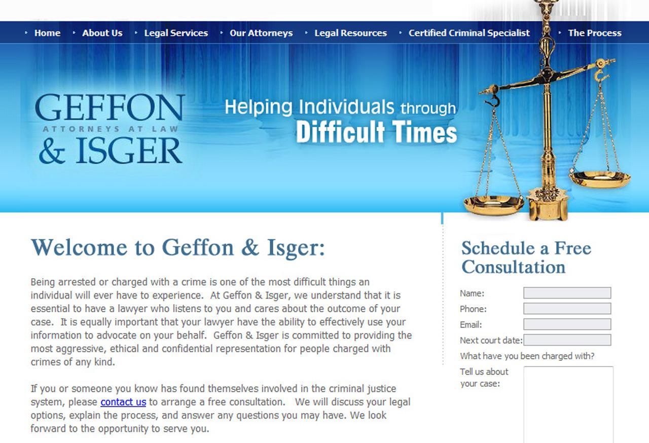 sjlawyer-194 Law Firm Web Design