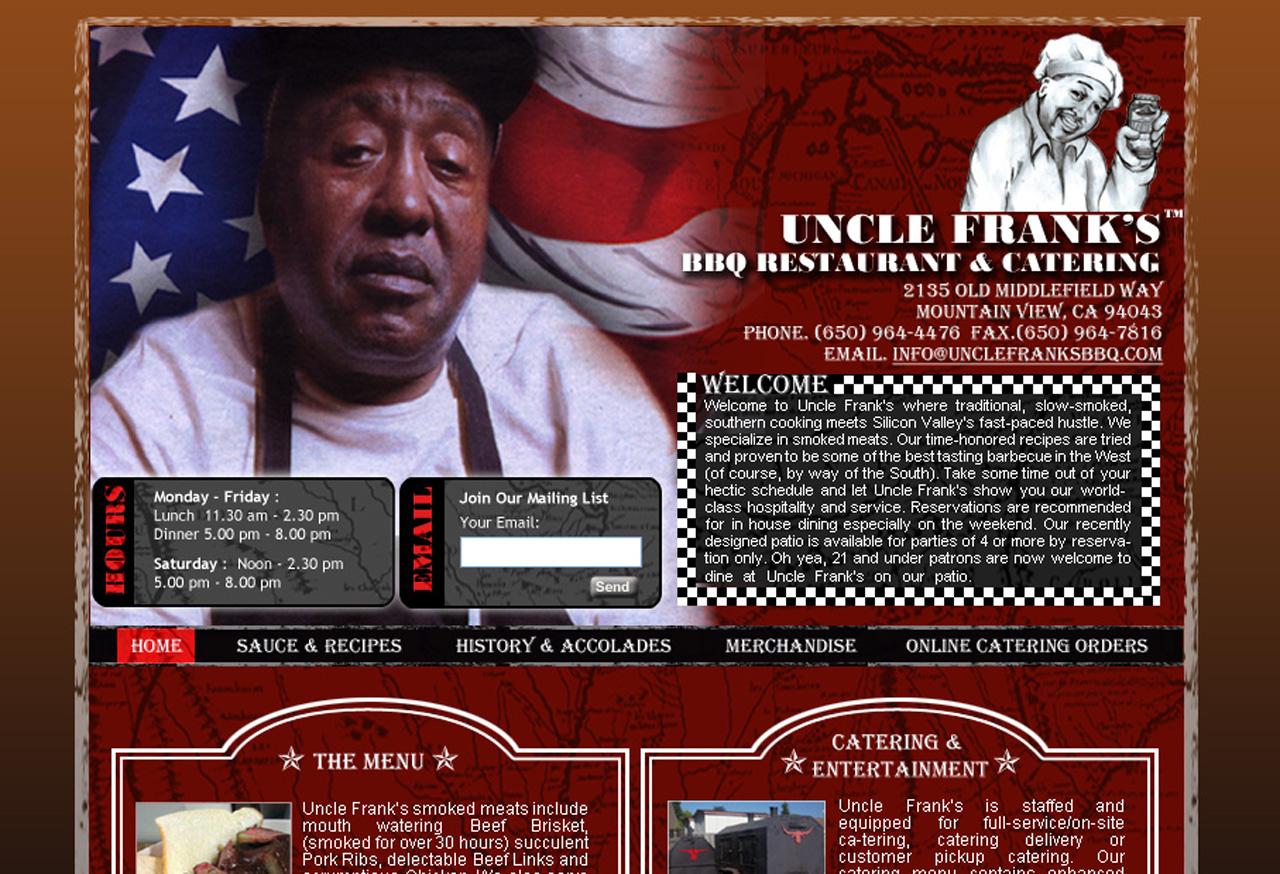unclefranks-9 Restaurant Web Design