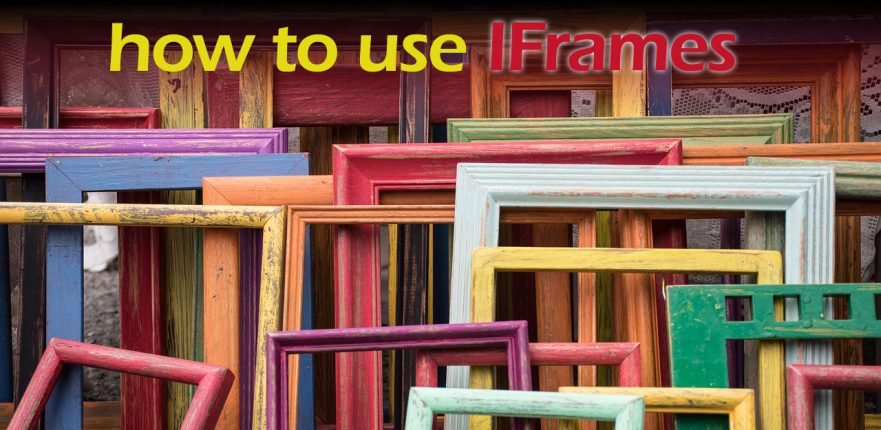 How to Use Iframes