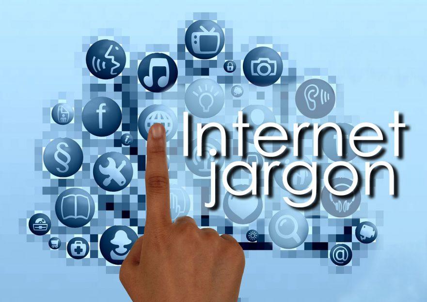 Internet jargon glossary