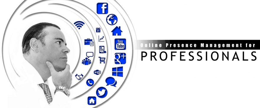 Online Presence Management for Professionals